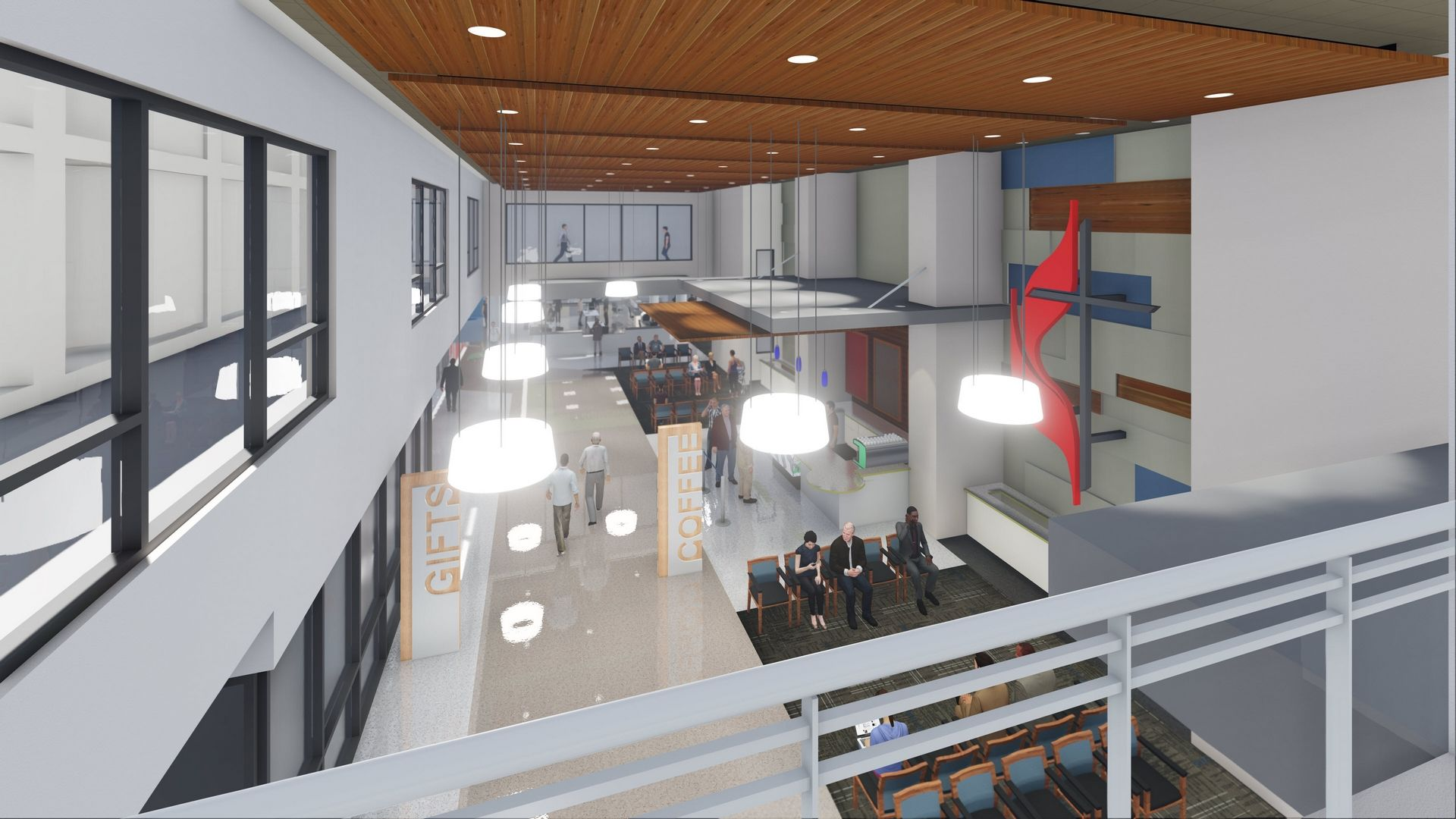 San Antonio TX THW Healthcare Design Interior Rendering