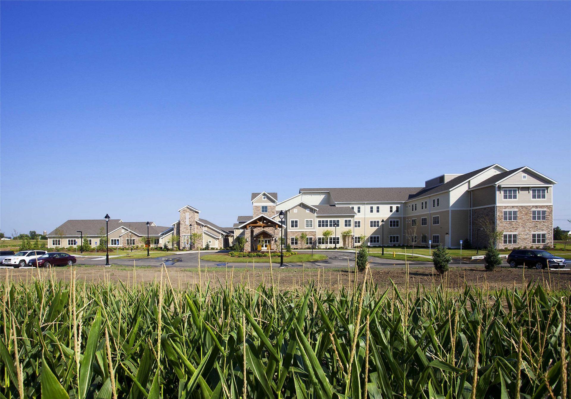 Kahl home for the aged davenport ia skilled nursing for Design homes iowa