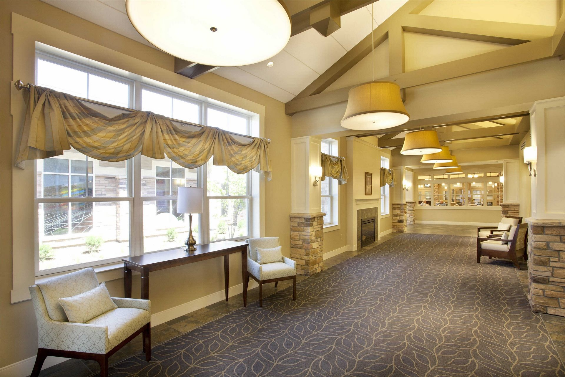 Kahl Home Skilled Nursing Design Corridor THW