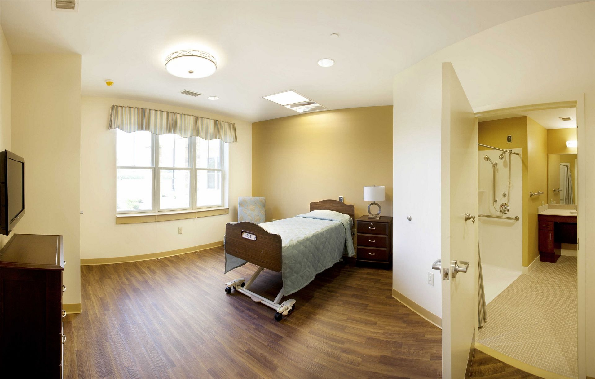 Kahl Home Skilled Nursing Design Private Room