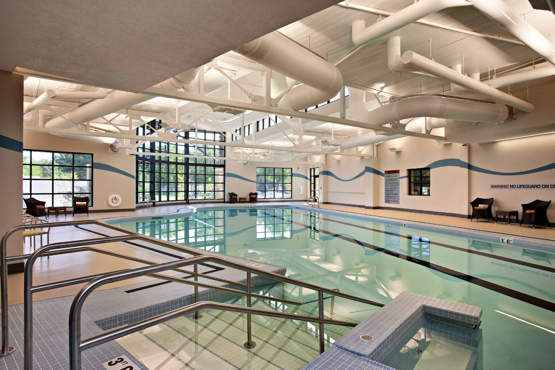Lakeview Village Retirement Skilled Nursing and Rehab Senior Living Design THW Wellness Pool