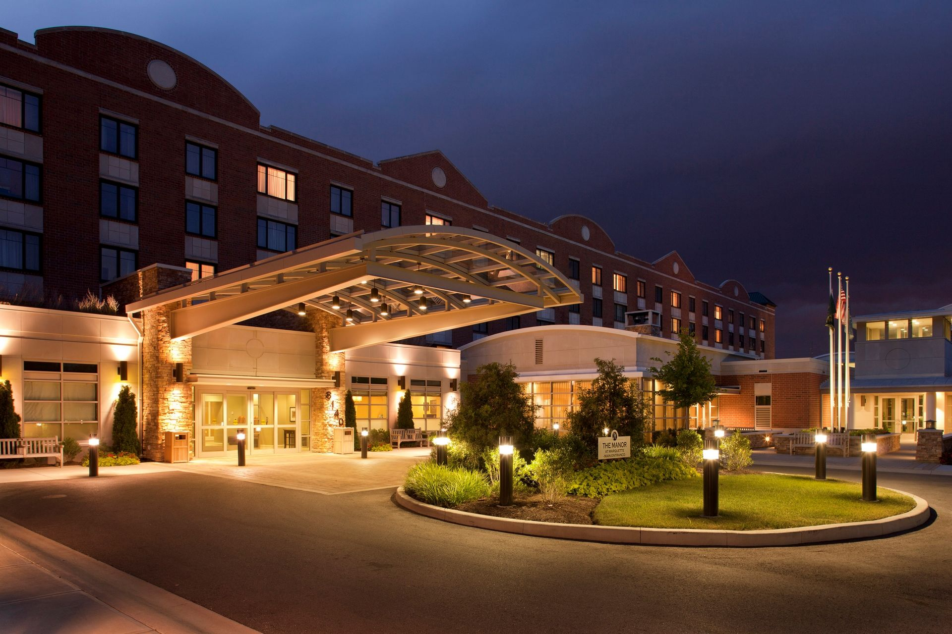 THW | Marquette | Entryway/ Lobby | Senior Living Design