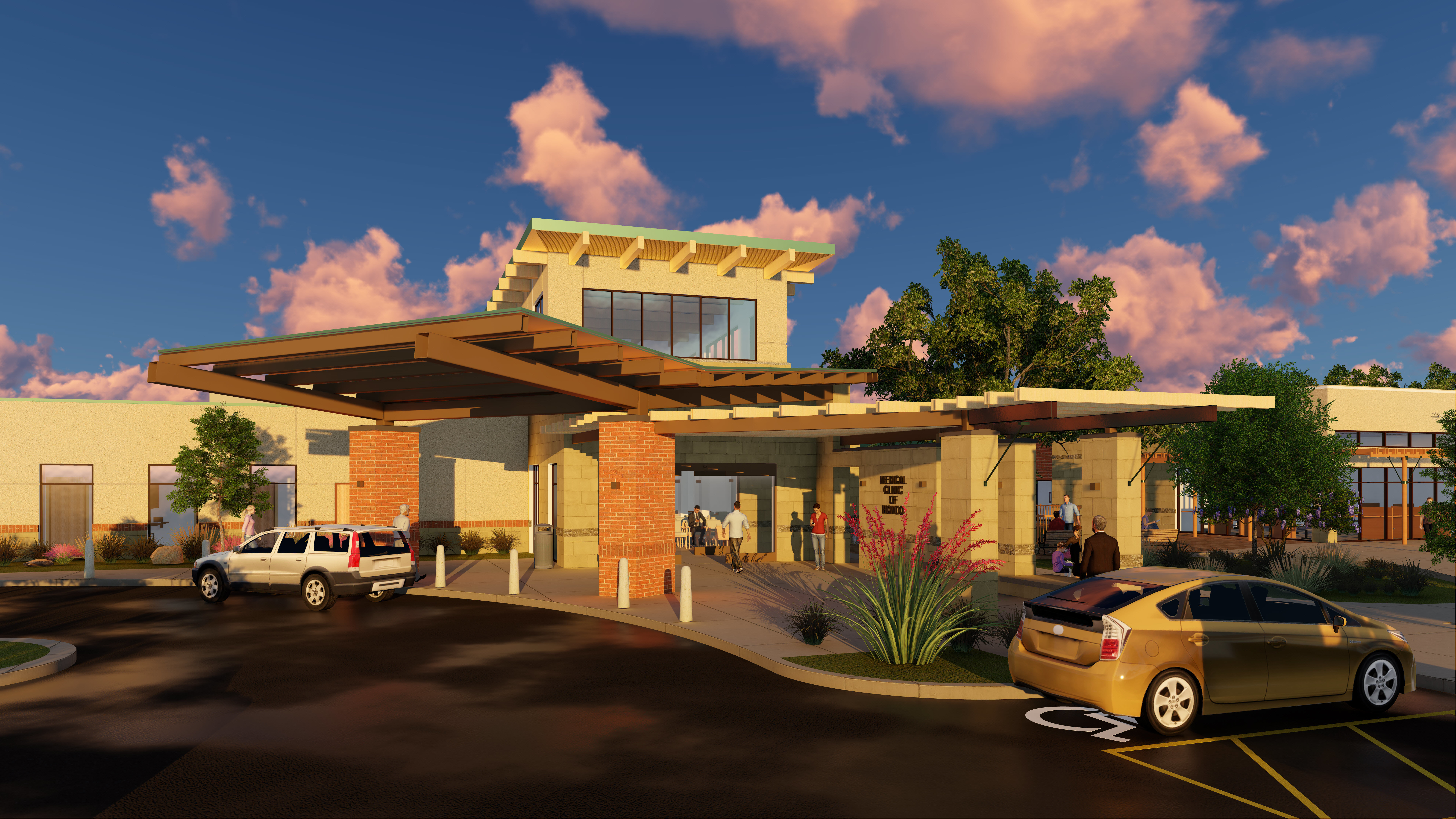 Medina Regional Hospital Clinic Expansion THW Design