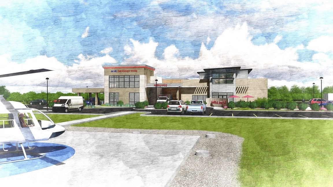 Free Standing Emergency Department, Baytown, TX THW Design Health care Healthcare