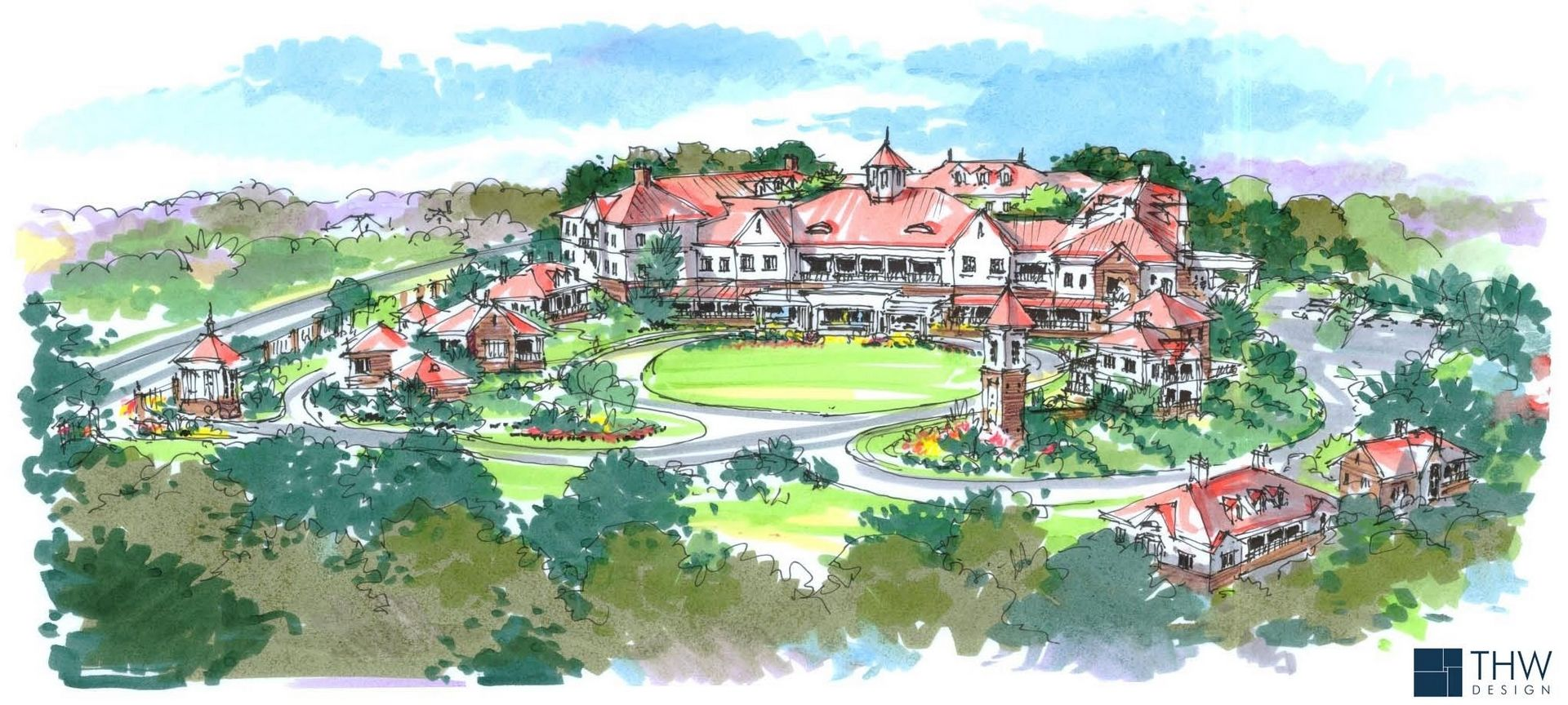 Sterling Estates Assisted Living Design THW Rendering