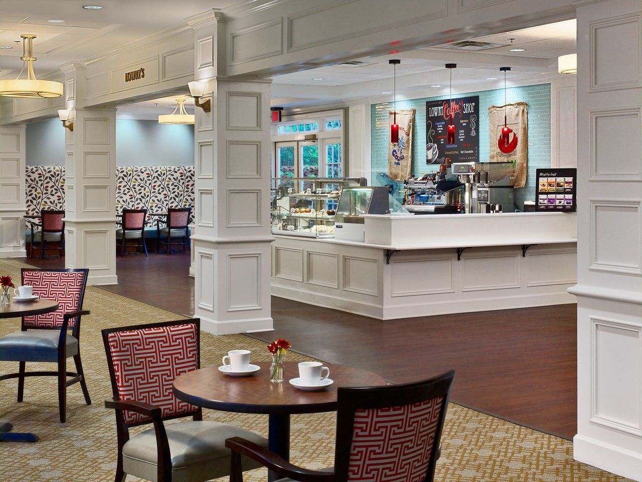 Still Hopes Episcopal Retirement Community | Renovation and Expansion Cafe THW