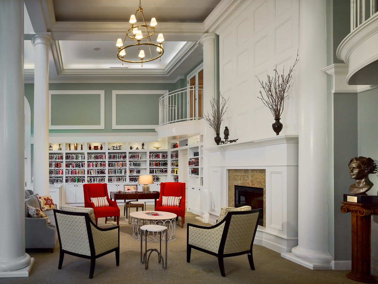 Still Hopes Episcopal Retirement Community | Renovation and Expansion Library THW