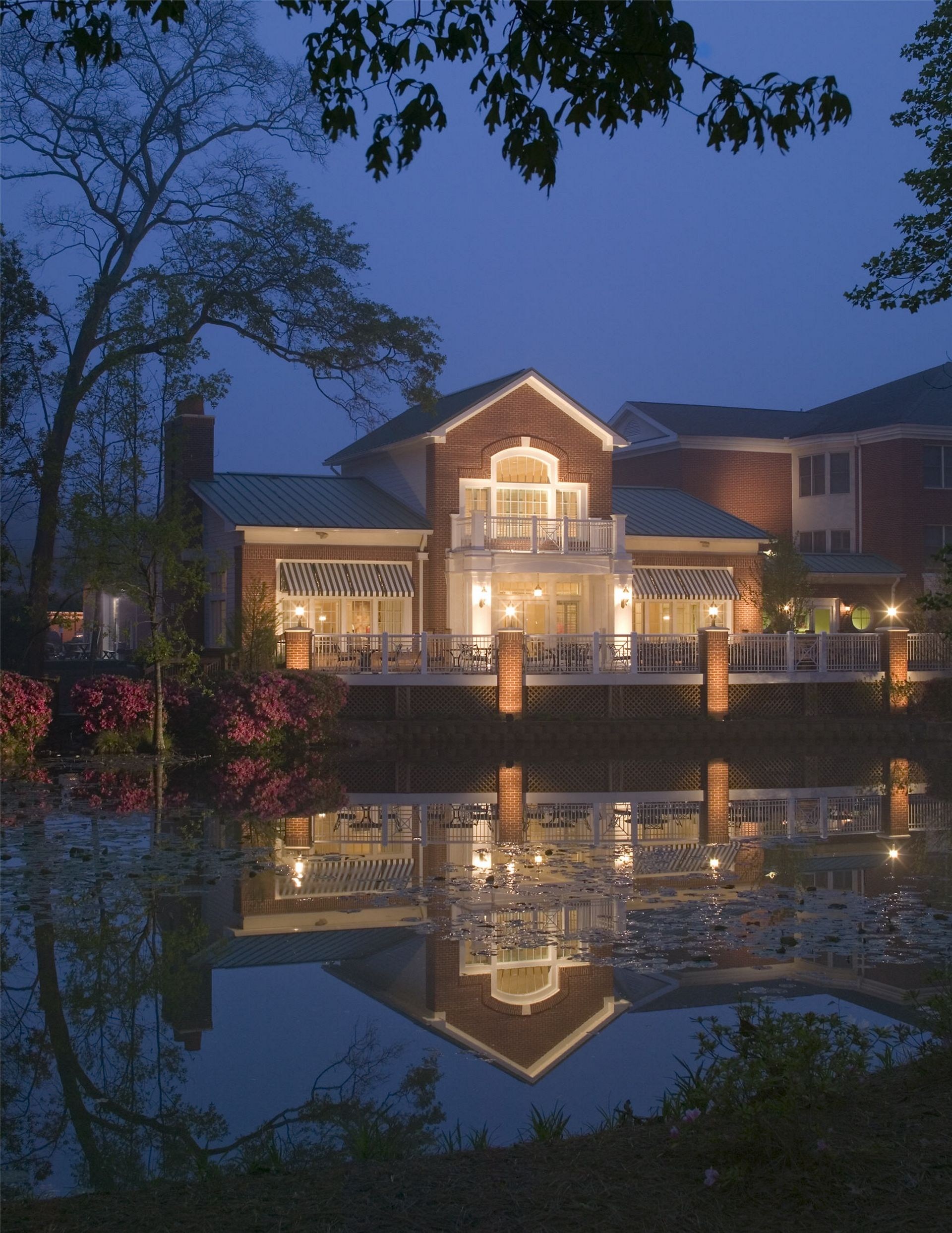 Still Hopes Episcopal Retirement Community | Renovation and Expansion Night Exterior THW