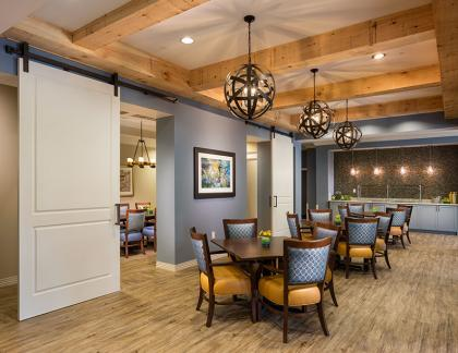 The Glen at Lake Oconee South Porch THW Design Senior Living Architects
