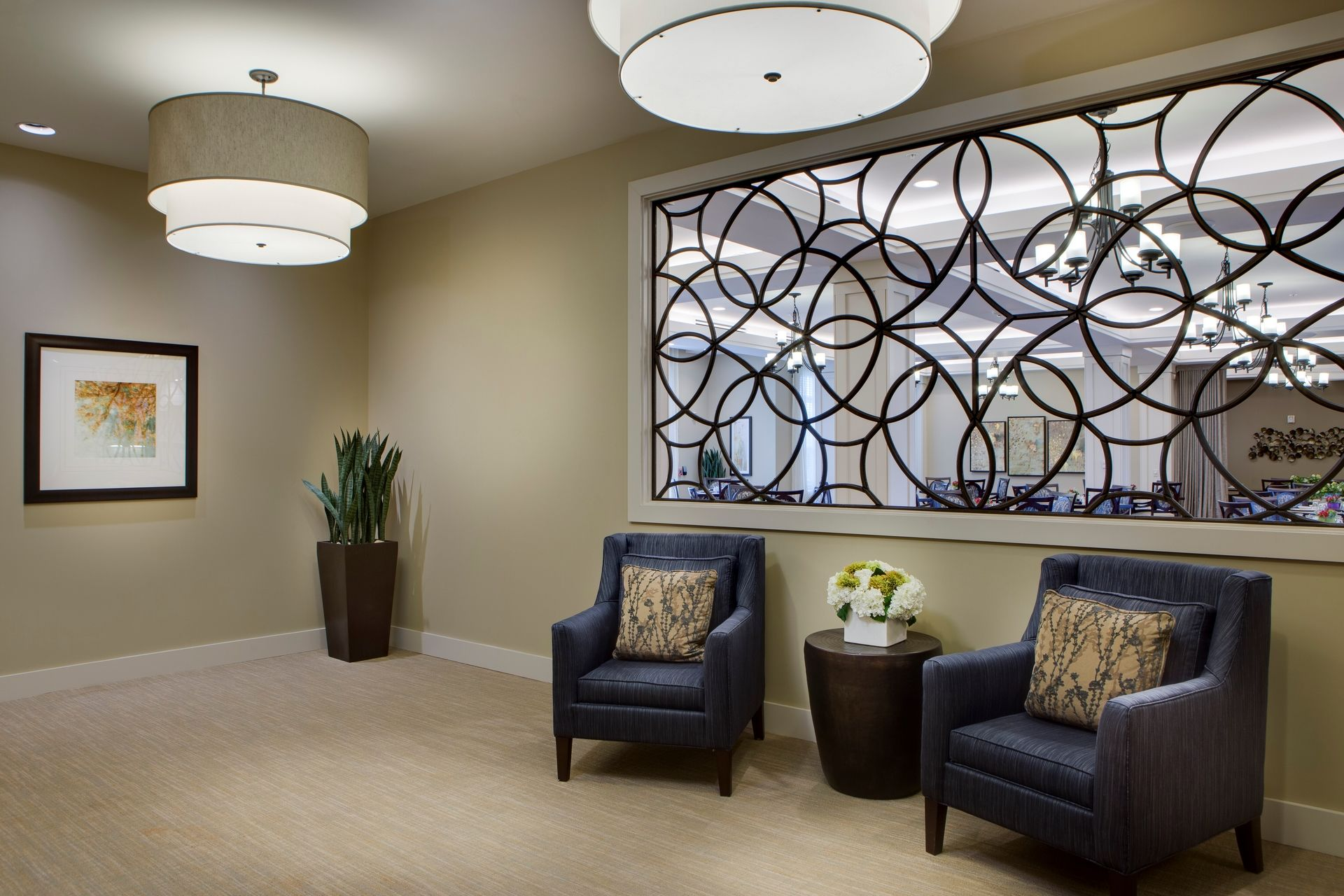 Greer Memory Care Design THW Interior Detail