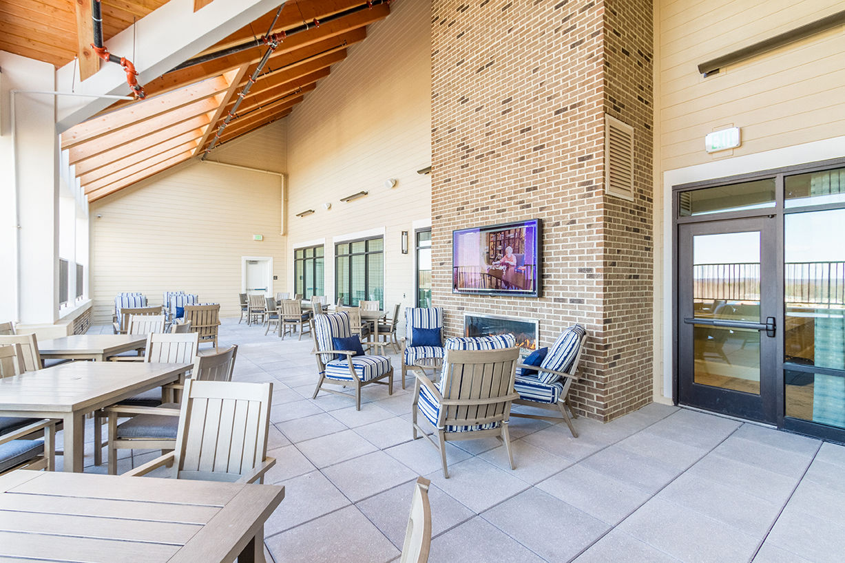 Senior Living Architects Virginia Terrace Patio