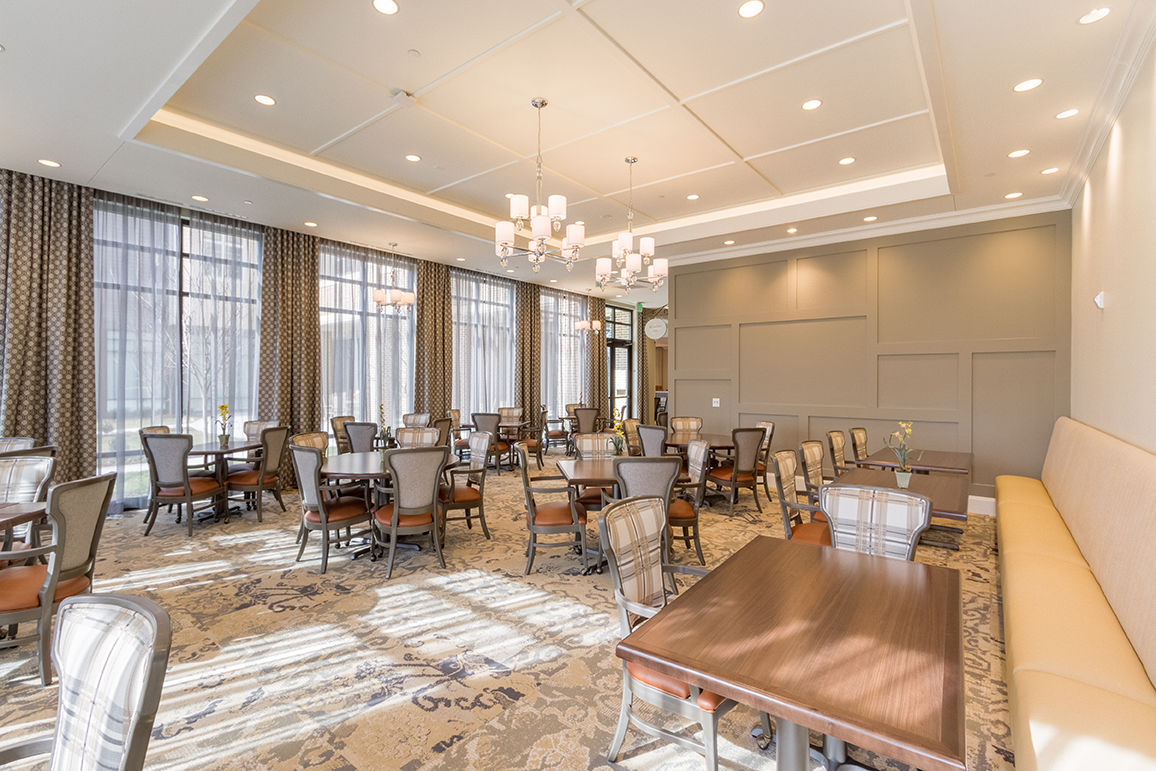 Senior Living Architects Virginia Formal Dining Room