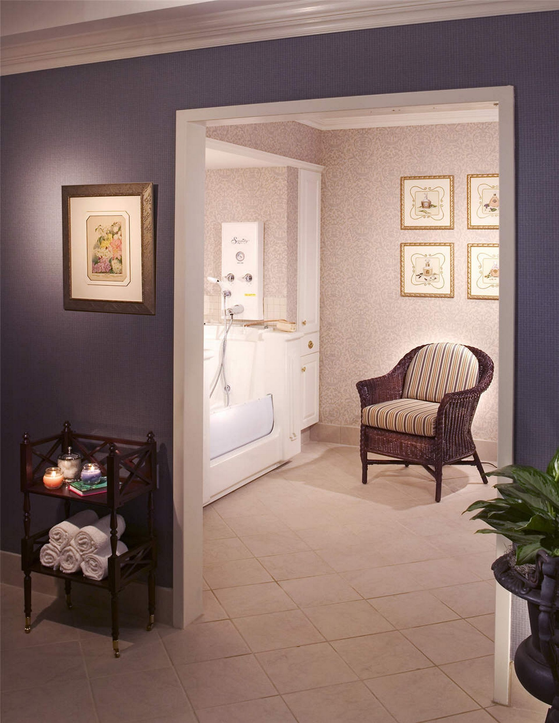 Westminster Canterbury Richmond CCRC Spa THW Design Senior Living