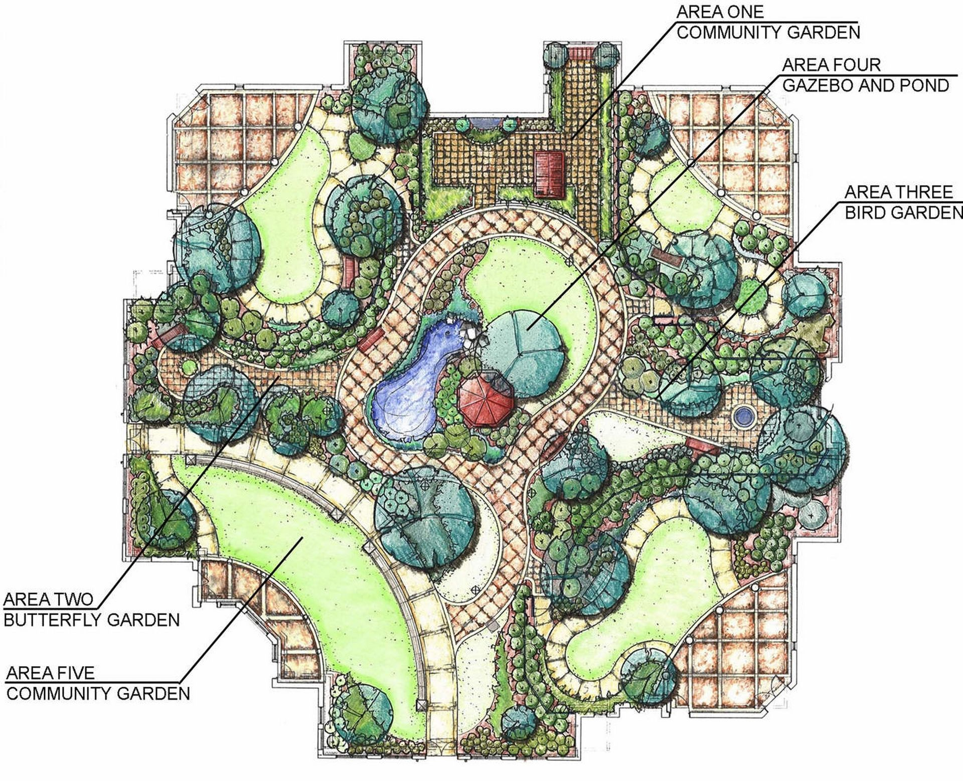 Westminster Canterbury Richmond CCRC Master Plan THW Design Senior Living