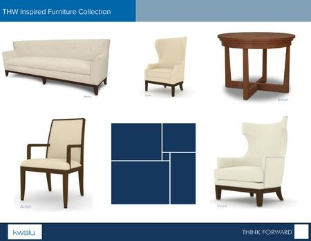 Kwalu and THW Design Design Furniture for Seniors Living