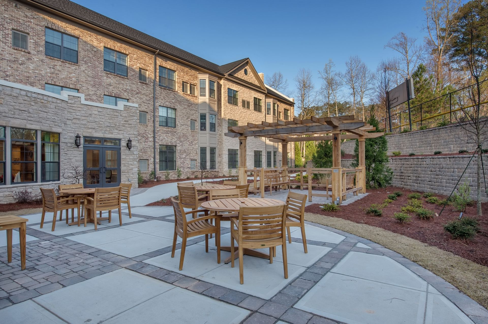 Berman Commons | Assisted Living And Memory Care Design THW Courtyard