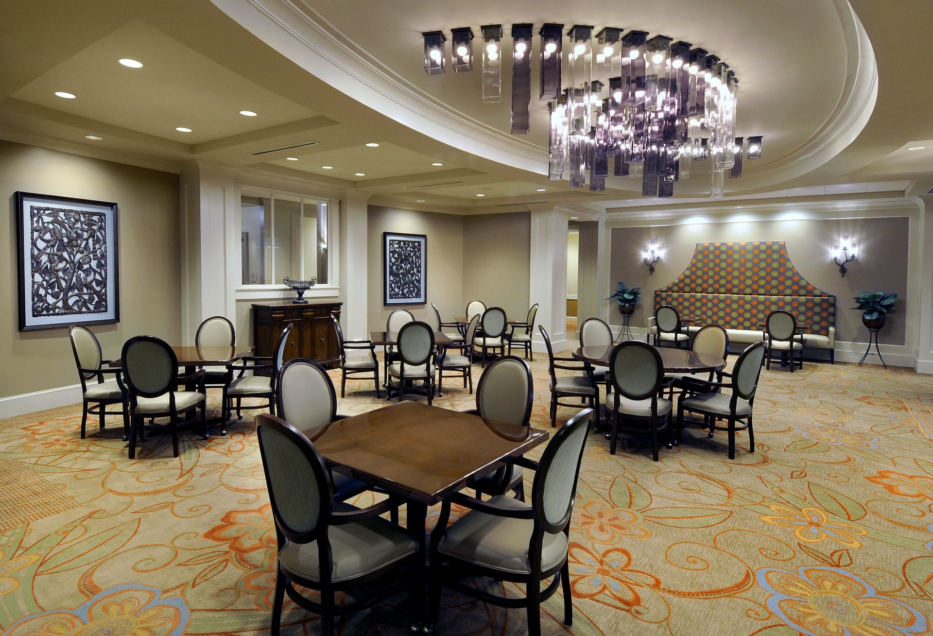 Berman Commons | Assisted Living And Memory Care Design THW Main Dining