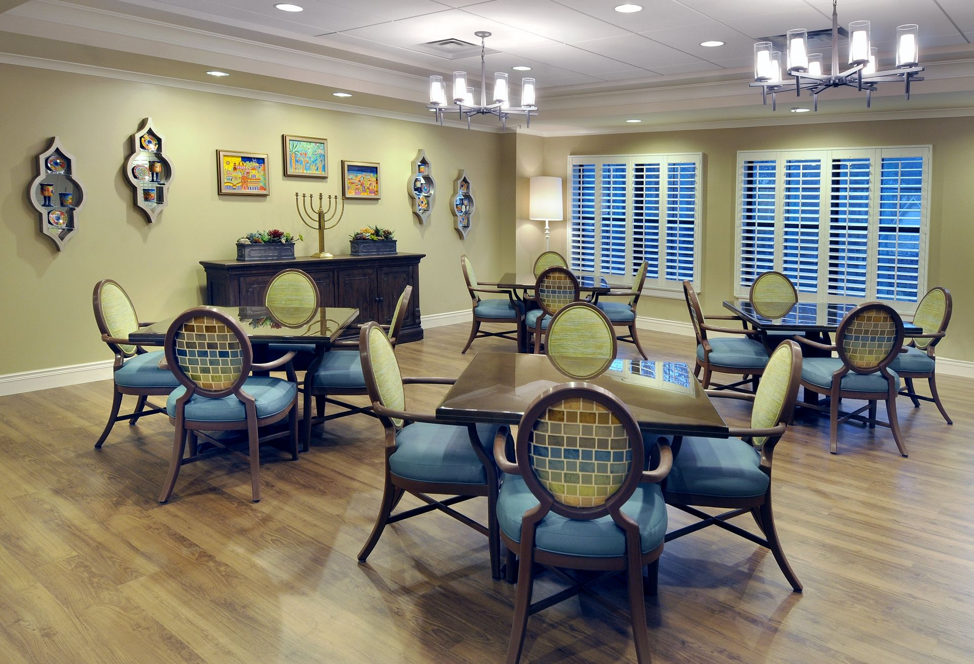 Berman Commons | Assisted Living And Memory Care Design THW Dining