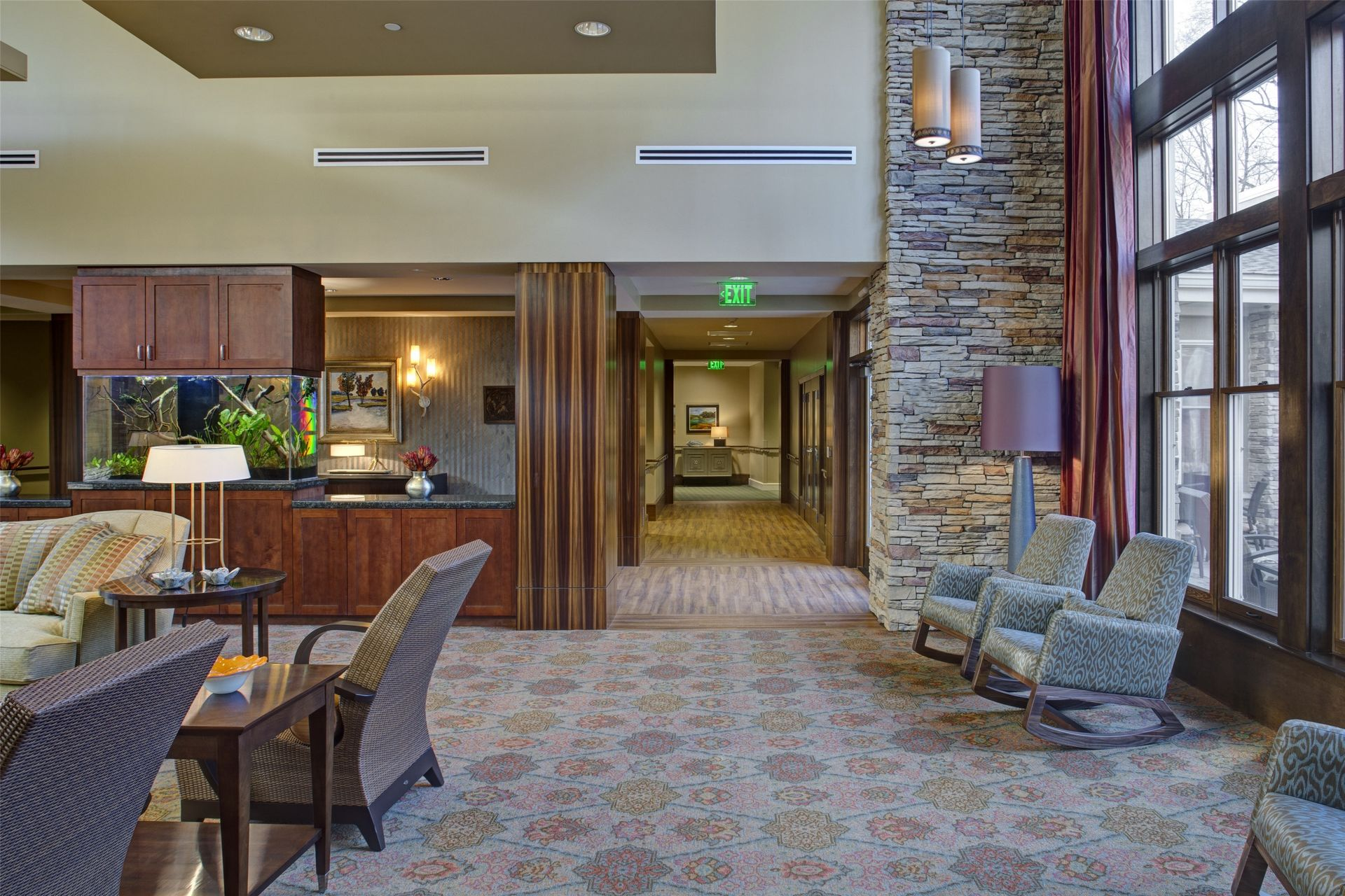 Cohen Rosen House, Rockville | Charles E. Smith | Assisted Living, Memory Care Design THW Dining 2