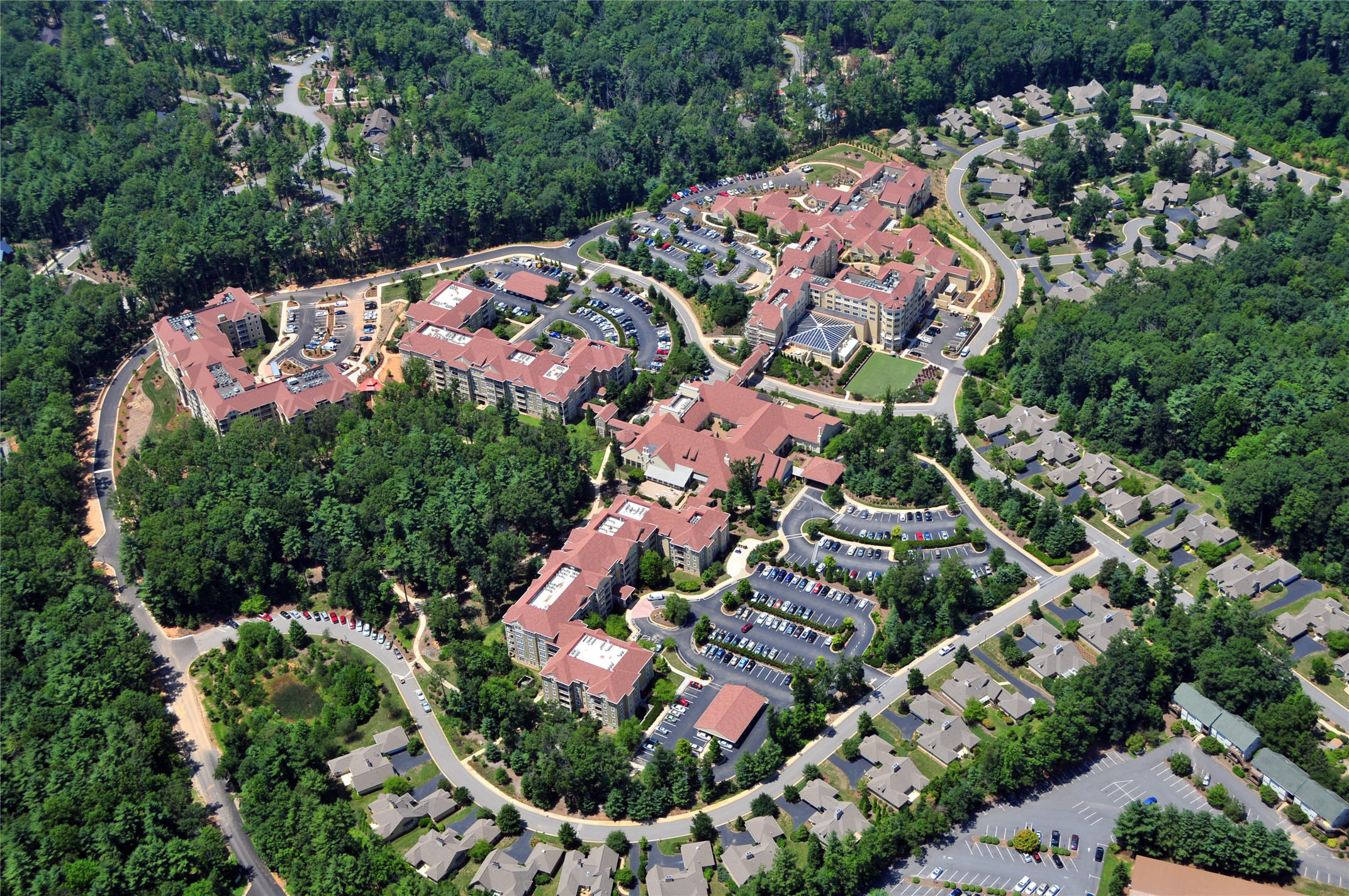 Deerfield Episcopal Retirement Community, Asheville, CCRC Design Senior Living THW