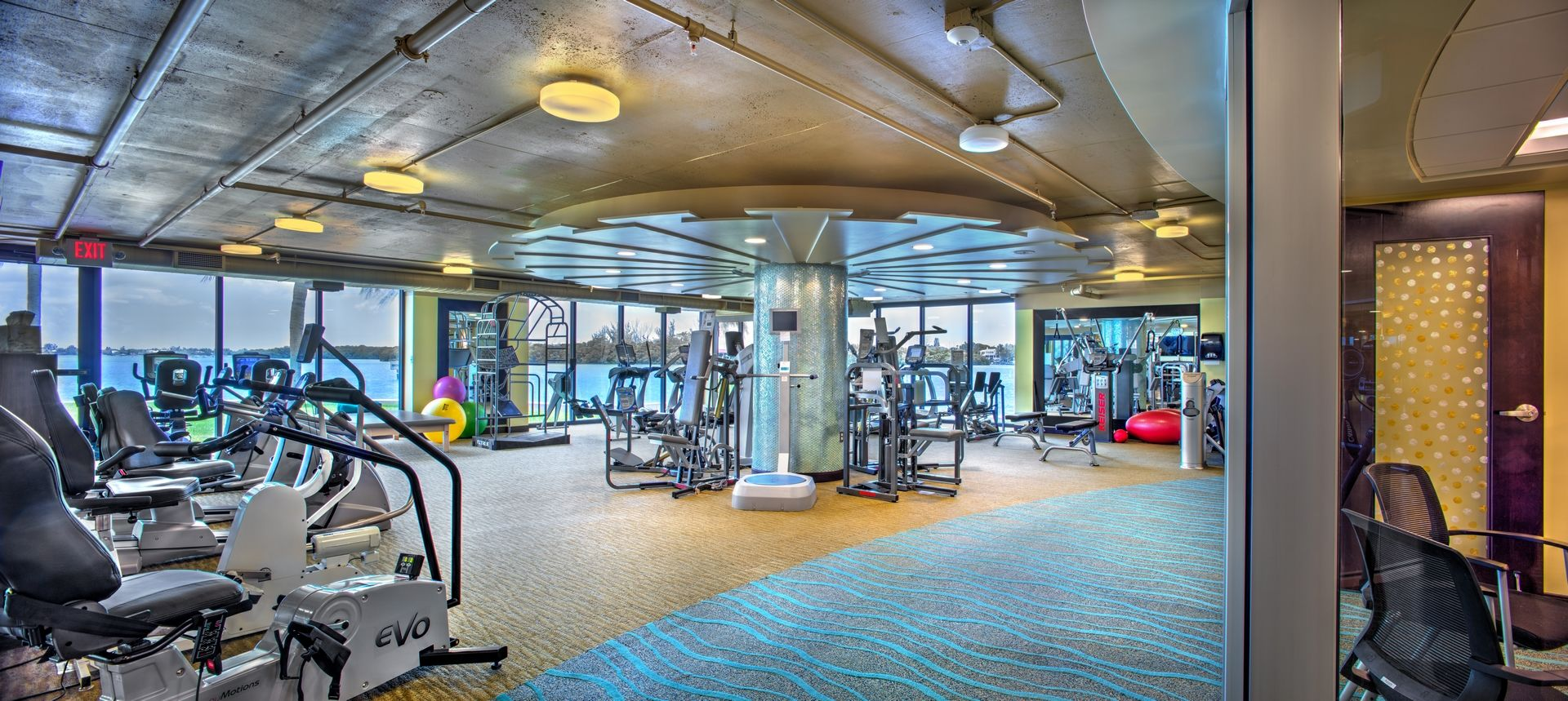 Plymouth Harbor Wellness Fitness THW Design Senior Living