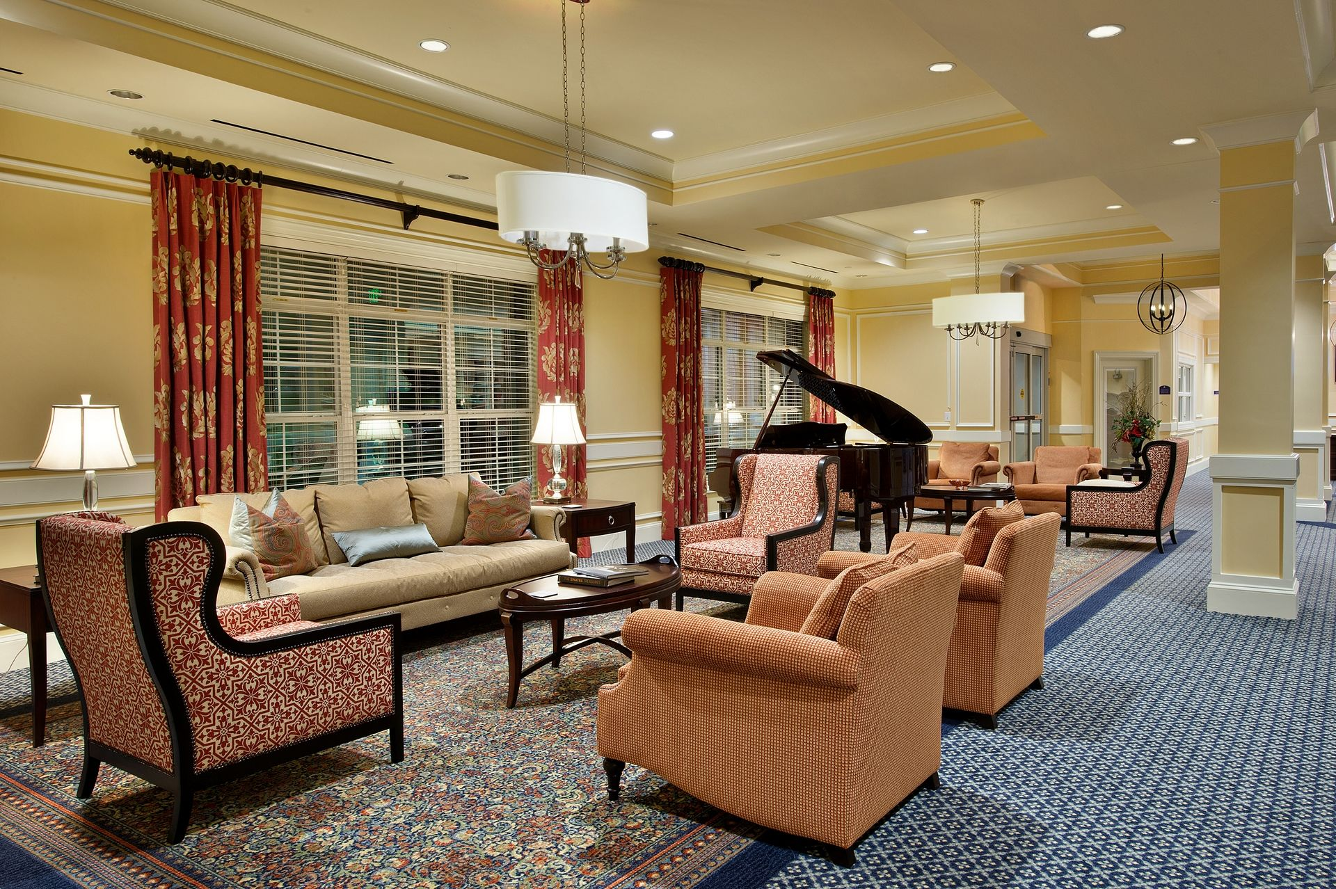 Sterling Estates Assisted Living Design THW Music Room