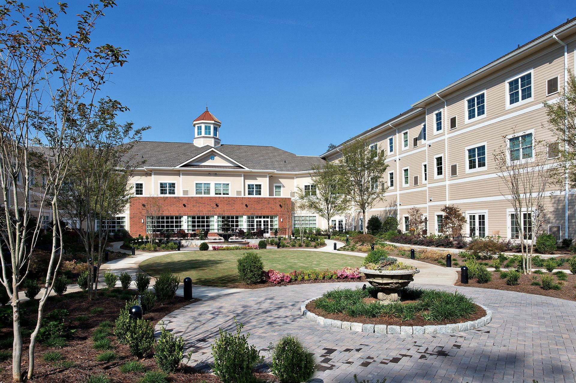 Sterling Estates Assisted Living Design THW Therapy Pool