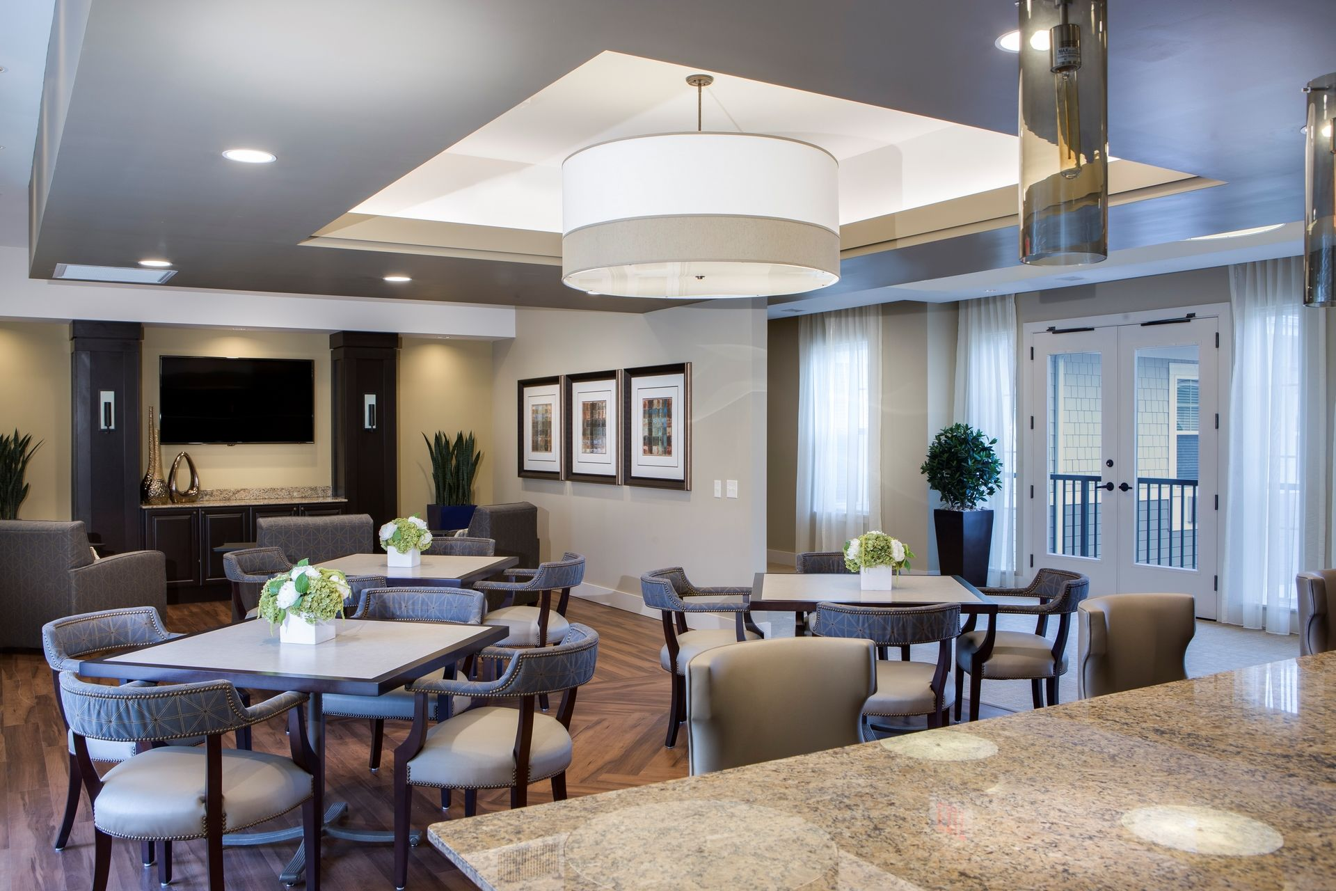 Greer Memory Care Design THW Dining