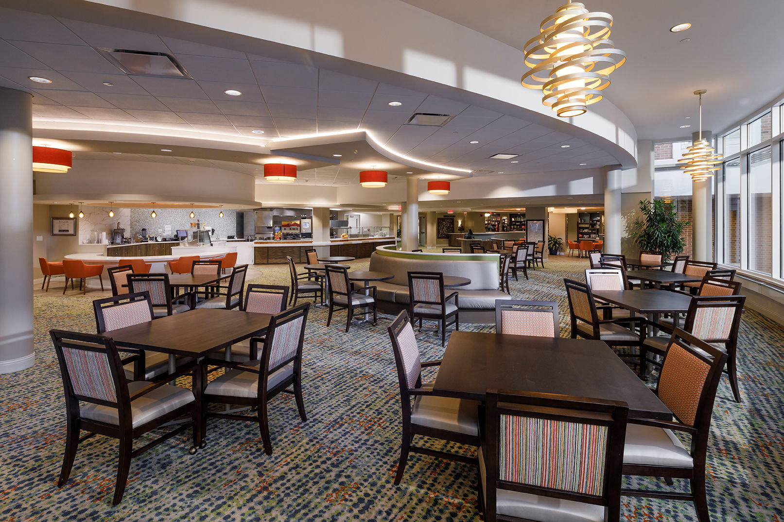 WCR Cafe Senior Living Modern