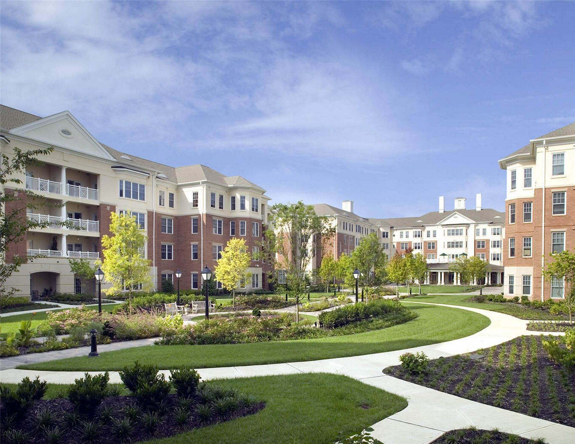 Westminster Canterbury Richmond CCRC Landscape architecture THW Design Senior Living
