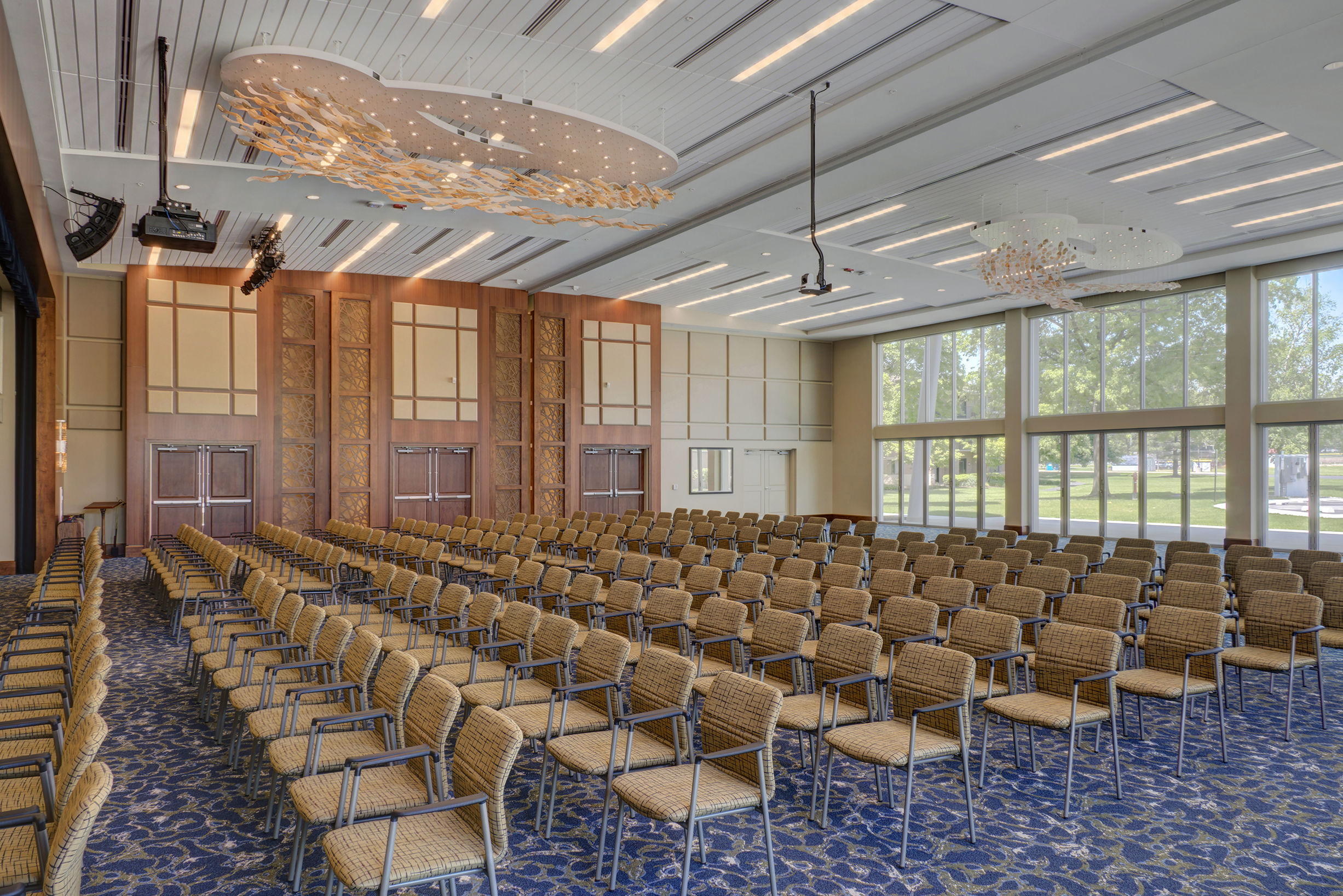 Rife Center Mechanicsburg Pennsylvania 500 seat auditorium THW senior living architects