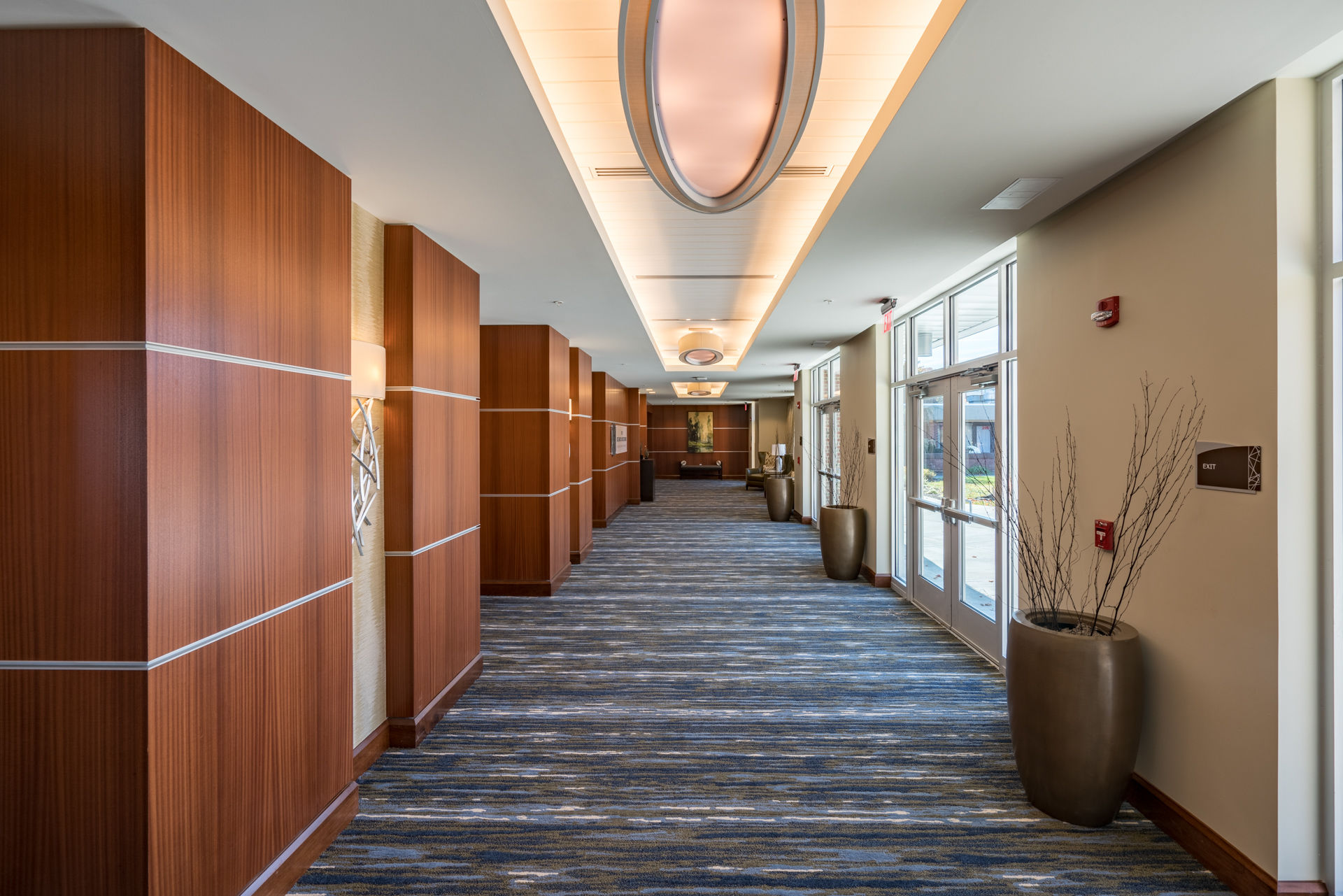 Rife Center Mechanicsburg Pennsylvania lobby gathering space THW senior living architects