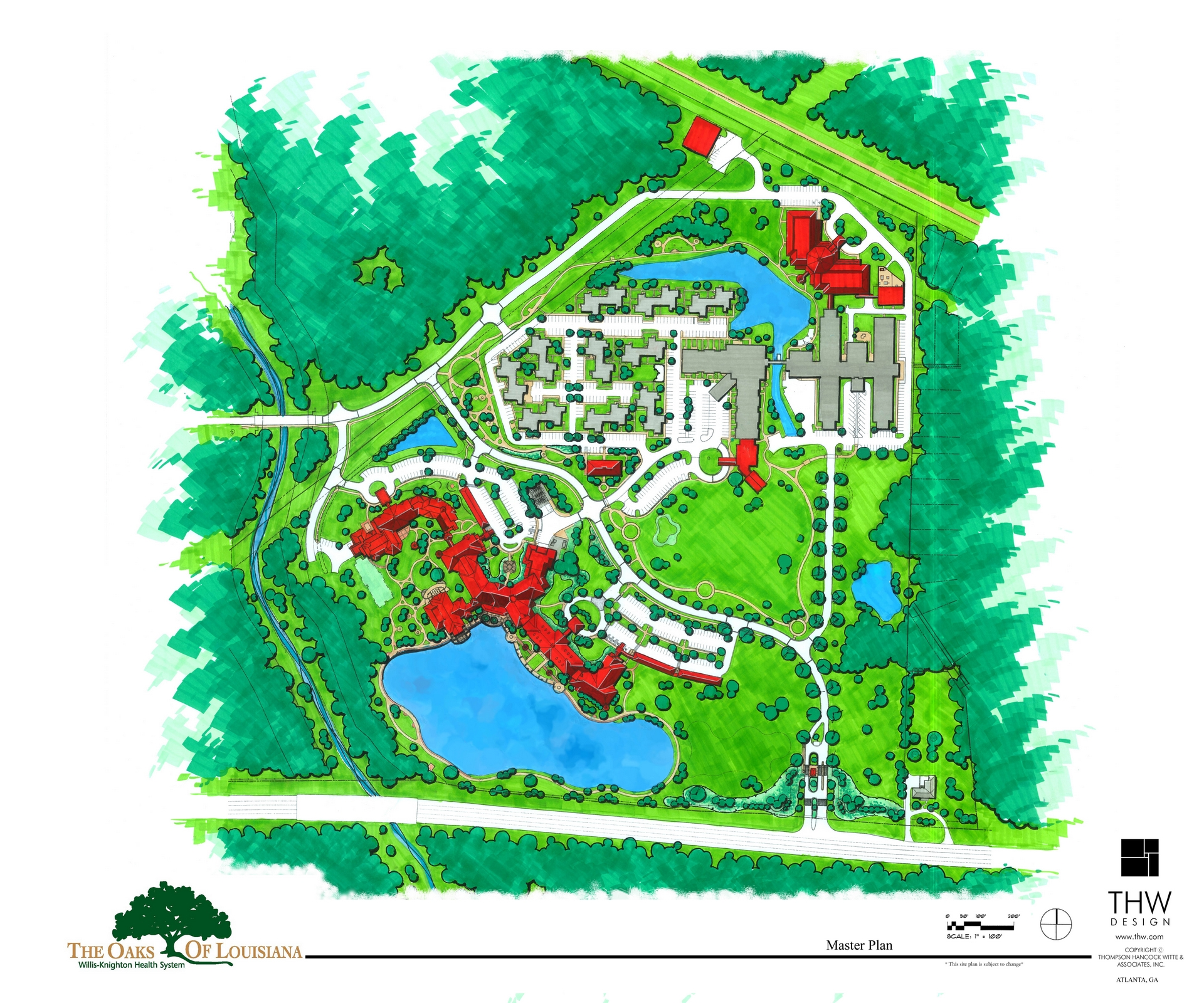Land Planning Brings New Life To An Existing Campus